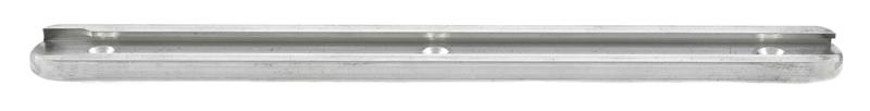 Hand Stop Rail, Aluminum, In the White, 8-7/8