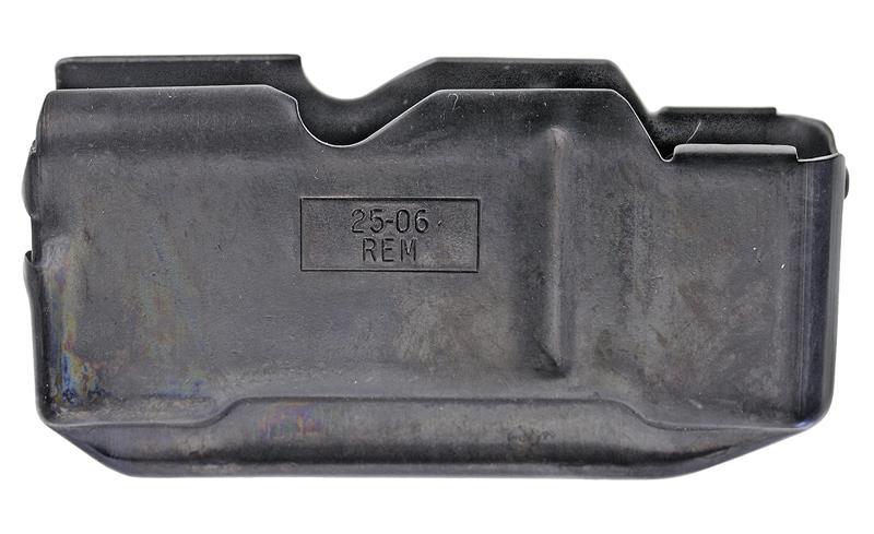 Magazine Box, .25-06 Rem Cal., 4 Shot, Original, Old Style, Blued Steel