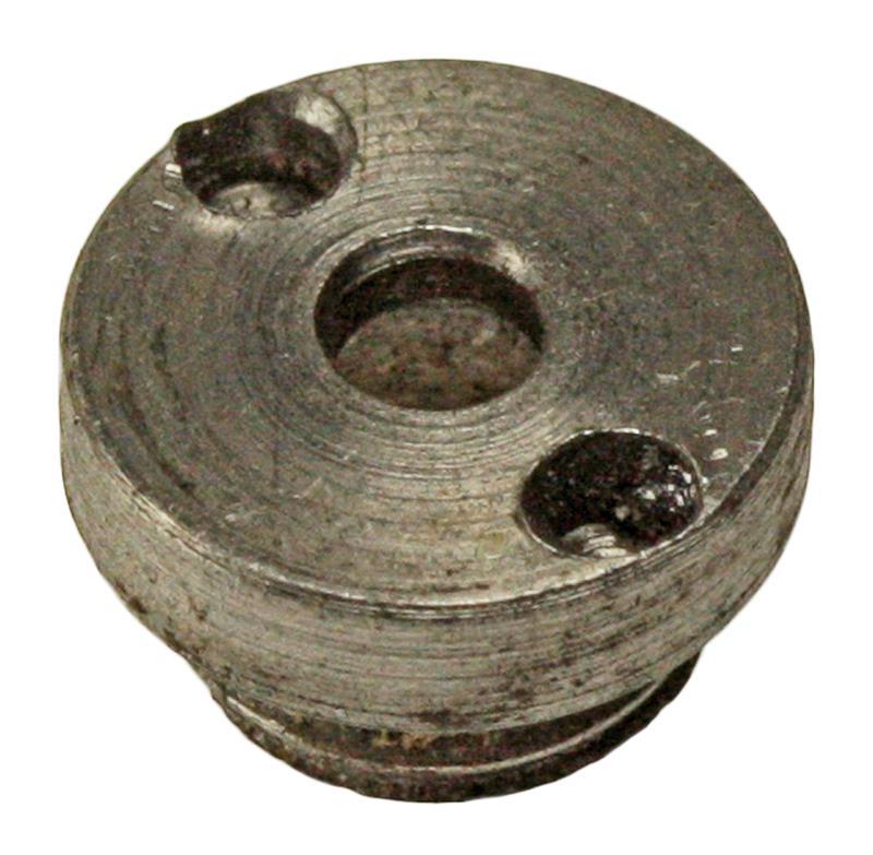 Firing Pin Bushing / Recoil Plate, Blued, Used, Original