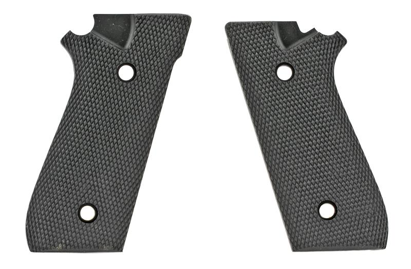 Grips, Black Checkered Rubber, Made by Butler Creek, New (AFD)