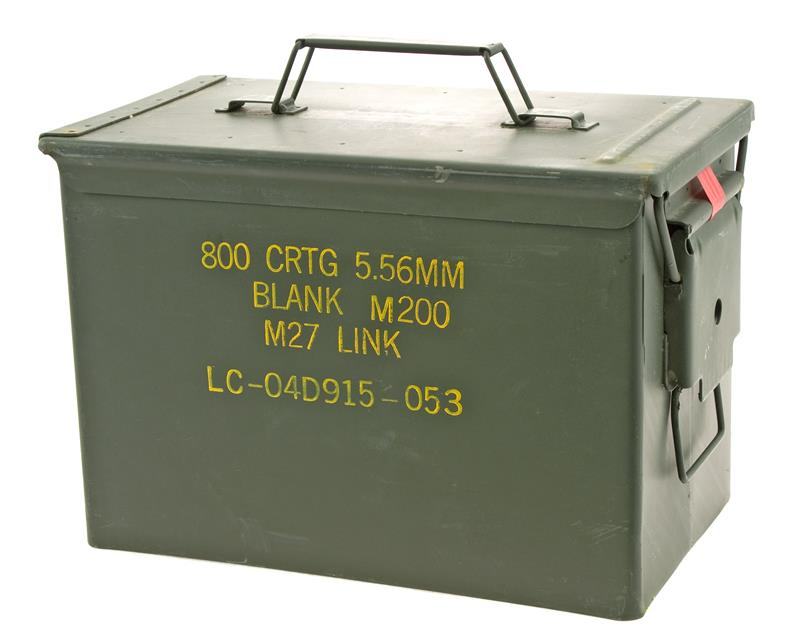 Ammo Can, .50 Cal.