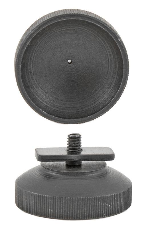 Eyepiece w/ Locking Plate, Heavy, New (Fits Pedersoli Creedmoor Rear Tang Sight)