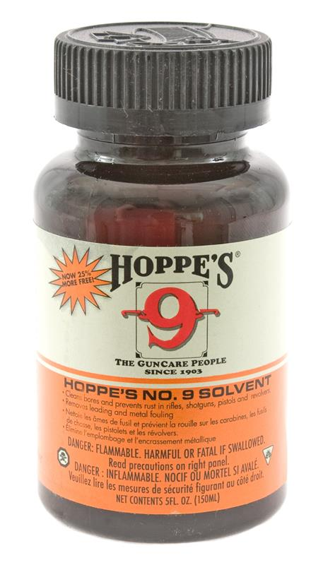 Hoppe's #9 Bore Cleaning Solvent, 5oz. Bottle