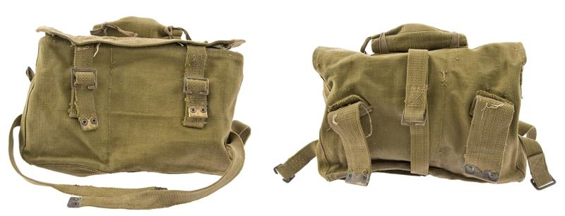 British P37 Pack, Post WWII, Unissued- Incl Roll Pouch, Rigging Straps & Buckles