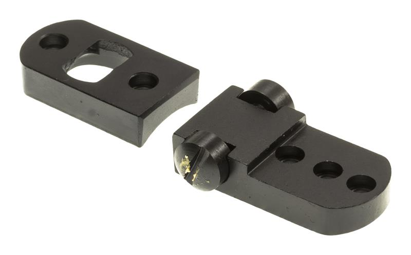 Scope Mount Base, 2 Piece, Burris, Remington, TU-700 ASA, Matte Black