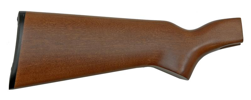 Stock, 12 Ga., Plain, Fully Finished (w/ Buttplate; For Top Tang Safety)