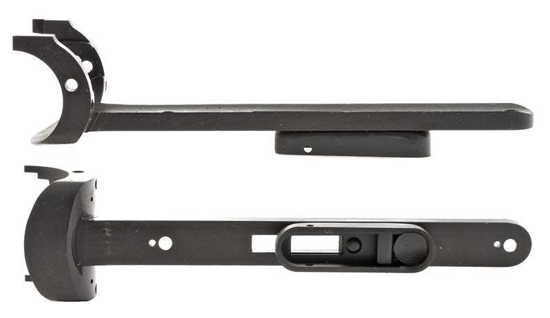 Forend Iron Stripped, 12 Ga, Blued, Engraved, Lock Screw Type