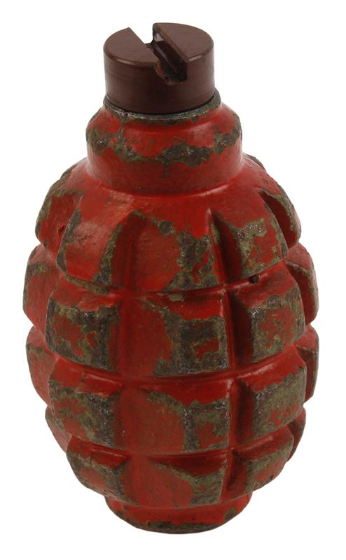Bulgarian F1 Practice Grenade (w/ Removable Plug)