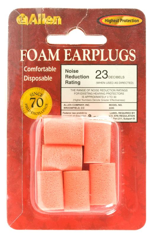 Foam Ear Plug Set w/ 23 NRR