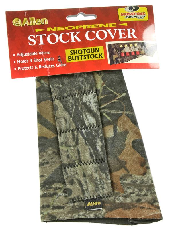 Shotgun Stock Cover w/ Four Cartridge Loops, Mossy Oak