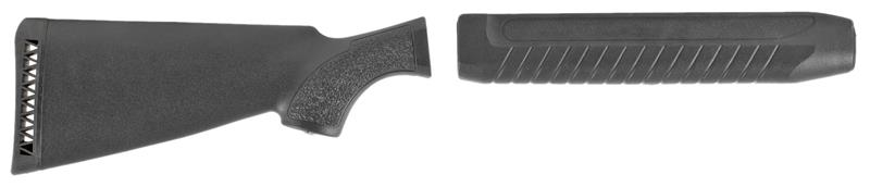 Stock & Forend Set, 12 Ga., Tactical, Black Synthetic