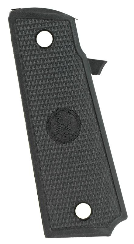 Grip w/ NRA Logo, Left, Plastic, Black