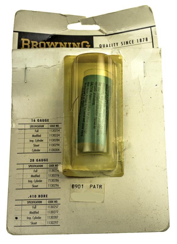 Choke Tube, .410 Ga., Improved Cylinder, Standard Invector, New Factory Original