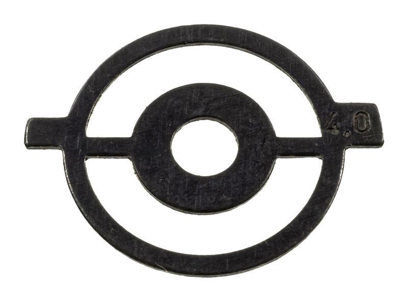Front Sight Aperture Insert, 4.0, Globe