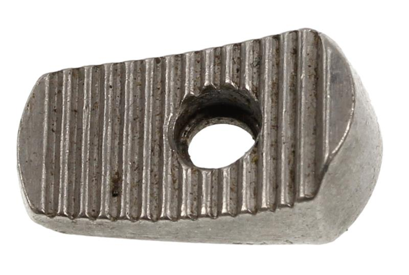 Thumbpiece, Old Style, Flat Serrated, Nickel