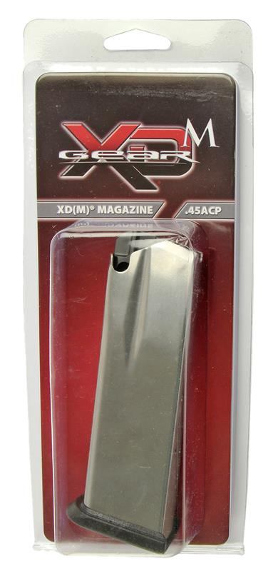 Magazine, .45 ACP, 13 Round, Stainless, New (Full-Size; Factory)