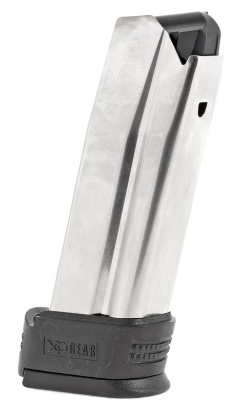 Magazine, .45 ACP, 10 Round, Stainless, New (Compact w/Black X-Tension; Factory)