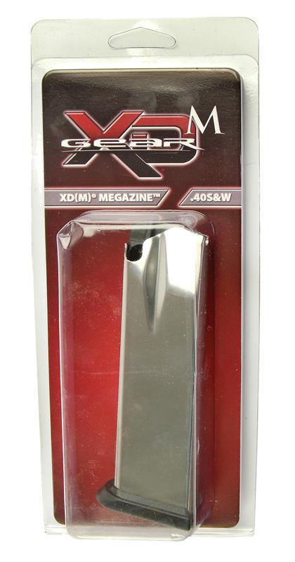 Magazine, .40 S&W, 16 Round, Stainless, New (Full-Size; Factory)