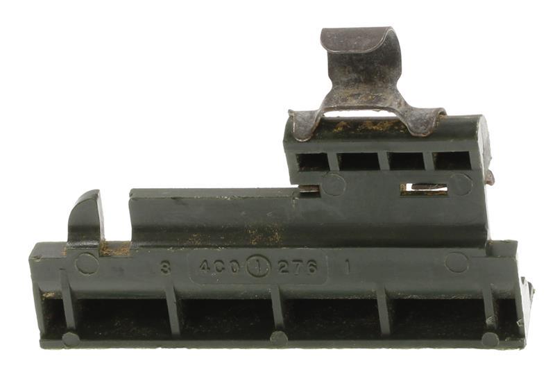 Cover/Feed Tab, Plastic Ammuntion Box, 5.56mm, Used