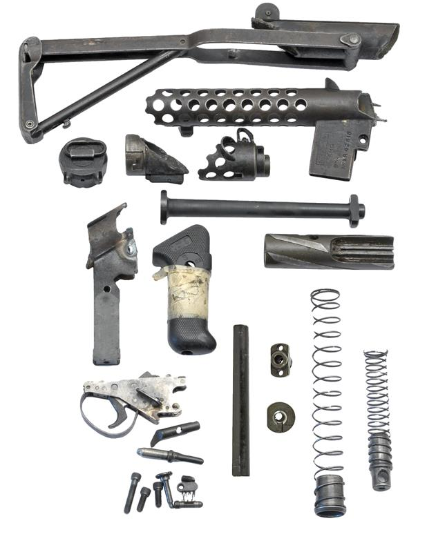 Parts Kit w/ Barrel (No Magazine), 9mm, Used