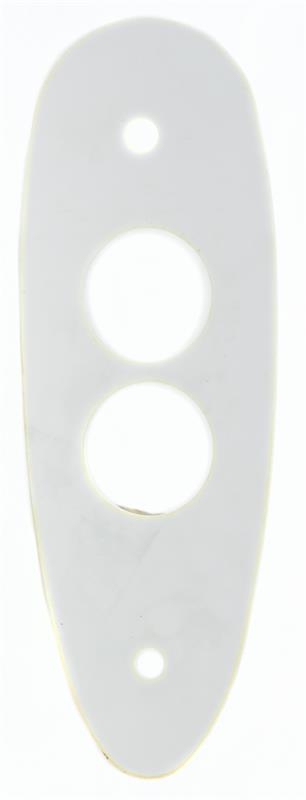 Buttplate / Recoil Pad Spacer, White