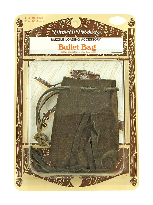Leather Bullet Bag, Small