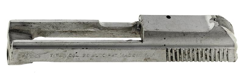 Slide, Stripped, Chrome (Takes Type III Firing Pin & #16A Firing Pin Ret Plate)