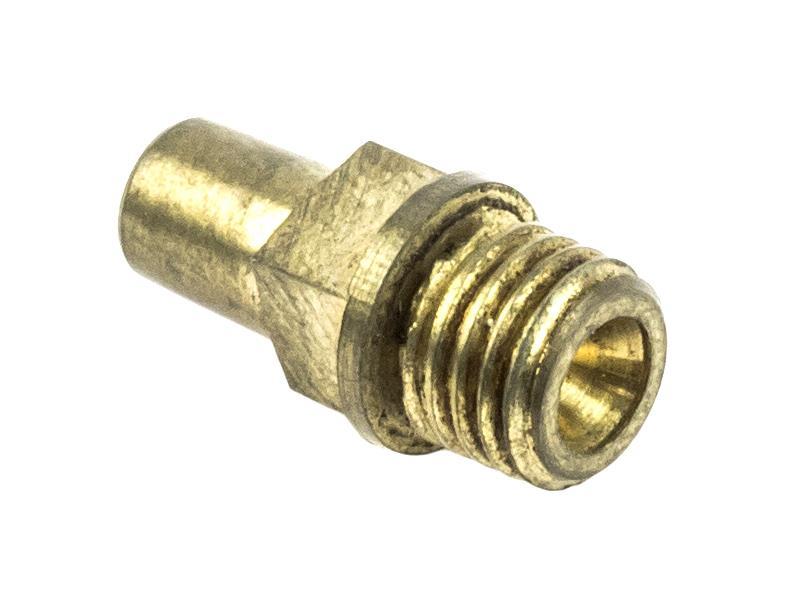 Nipple (5/16 - 24) Square Shoulder, Brass