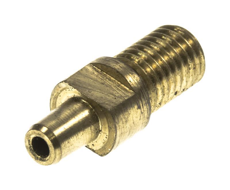 Nipple (1/4 - 28) .825 Long, Brass, New Factory Original