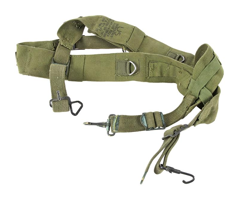 Suspenders, Pack, Field Cargo and Combat M-56, Used Good to VG Condition