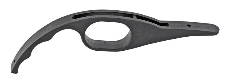 Trigger Guard, One-Piece, Black, New Reproduction (w/ Finger Grooves)