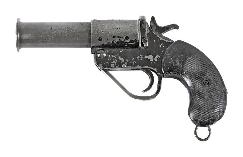 Flare Pistol, British #1 MKV 26.5mm, Damaged Condition