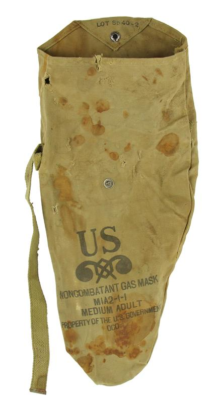 Carry Bag, For M1A2-1-1 Non-Combatant Gas Mask, Size Medium Adult