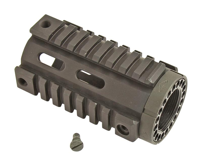 Free Float Tube Handguard, Pistol Length, Solid Quad Rail, Yankee Hill Mfg