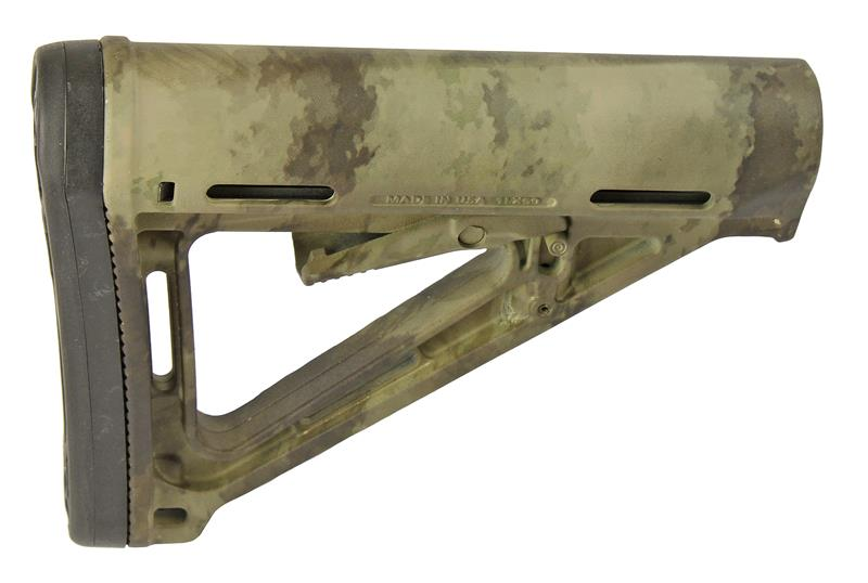 MOE Collapsible Stock, A-Tacs Camo (Magpul)