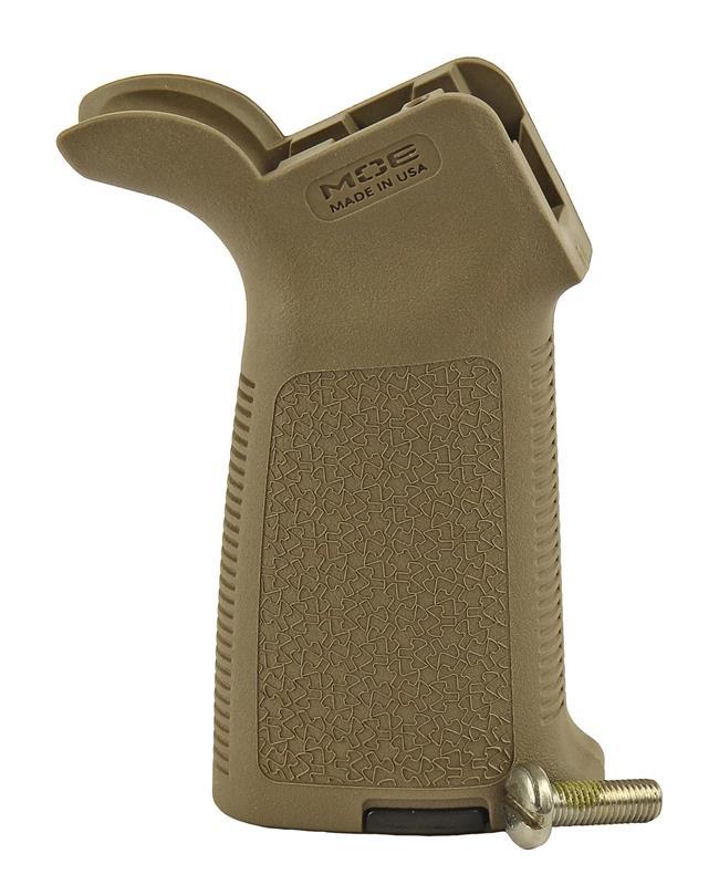 MOE Pistol Grip, New, Basic Dark Earth (w/ Grip Screw; Magpul)