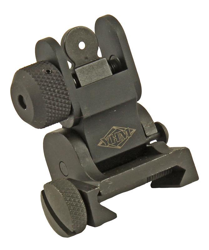 Low Profile Rear Folding Flip Sight, New (Yankee Hill Machine)