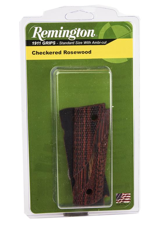 Grips, Swooping S Checkered Rosewood, New