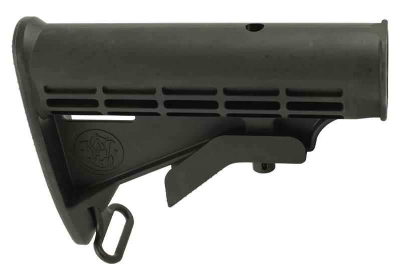 Stock, Collapsible, Black (w/ S&W Emblem)