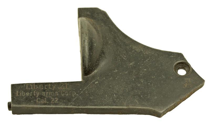 Sideplate, Blued, Used Factory Original
