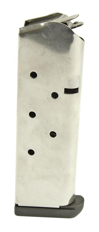 Magazine, .45 Cal., 7 Round, Stainless, New (w/ Pad; Factory)