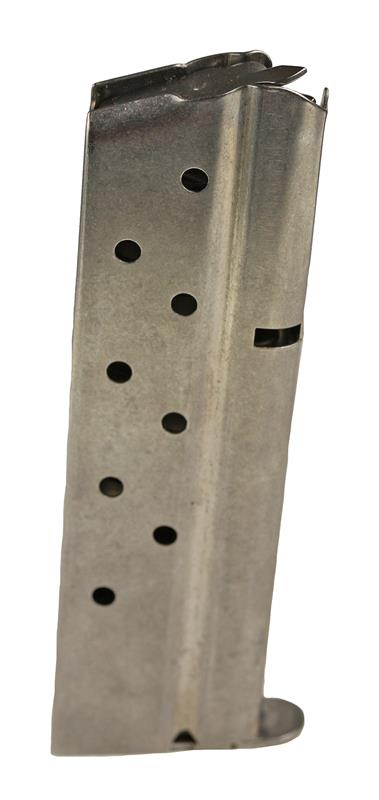 Magazine, 9mm, 9 Round, Stainless, New (Metalform; Welded; Factory)