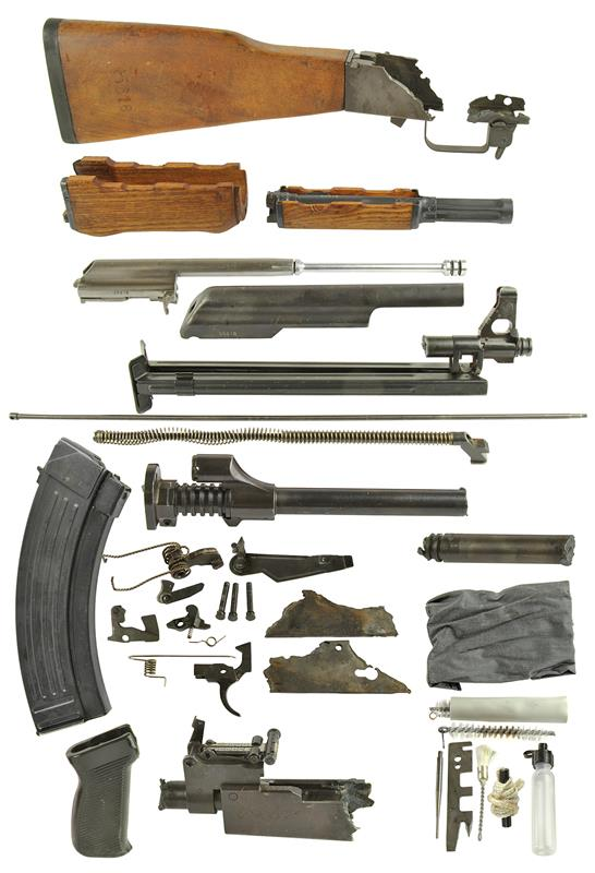 Spare Parts Kit w/ Matching Numbers, Milled w/ 30 Rd Magazine and Cleaning Kit