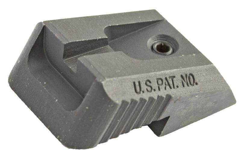 Rear Sight, Fixed, Recessed Blade (Fits Novak LoMount Sight Cut; Kensight)
