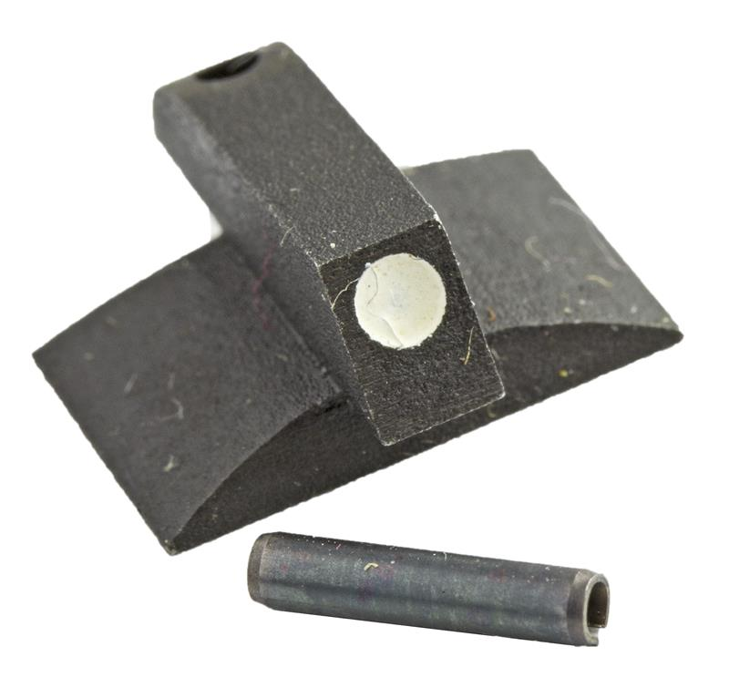 Front Sight, Dovetail, Contoured Base, White Dot (.150