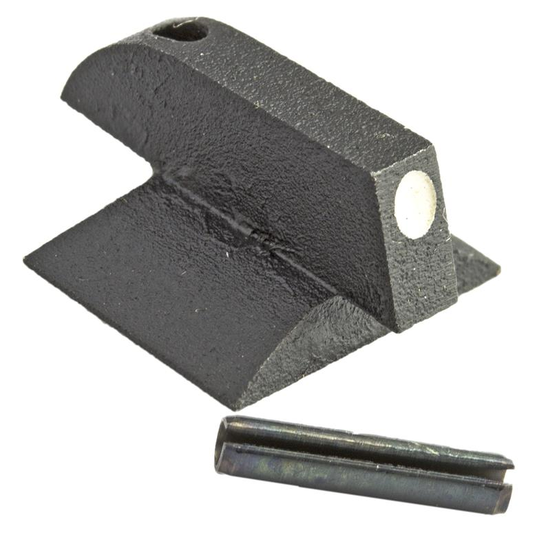 Front Sight, Dovetail, Contoured Base, White Dot (.170