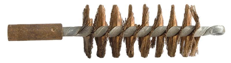 Bore Brush, 12 Ga., (10 x 32 TPI Female End), Bronze Bristle