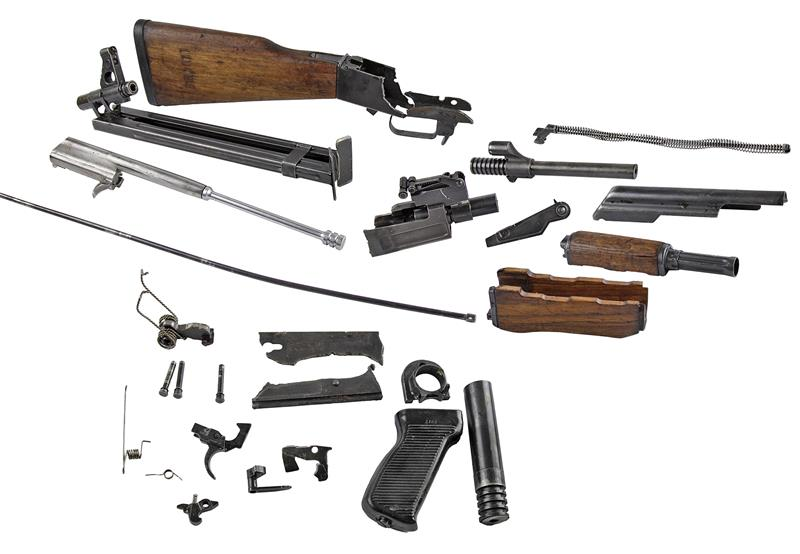 Complete Parts Kit-Includes Demilled Receiver & Barrel w/Bipod w/o Magazine