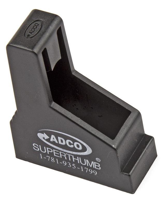 Magazine Loader, ADCO ST-3 Super Thumb, Pistol, Single Stack