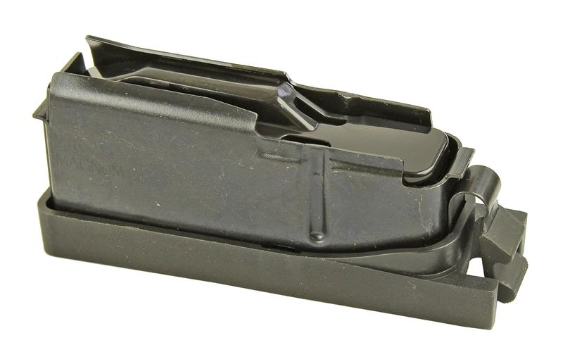Magazine, Long Action Magnum, 3 Round, Blued, New (Factory)
